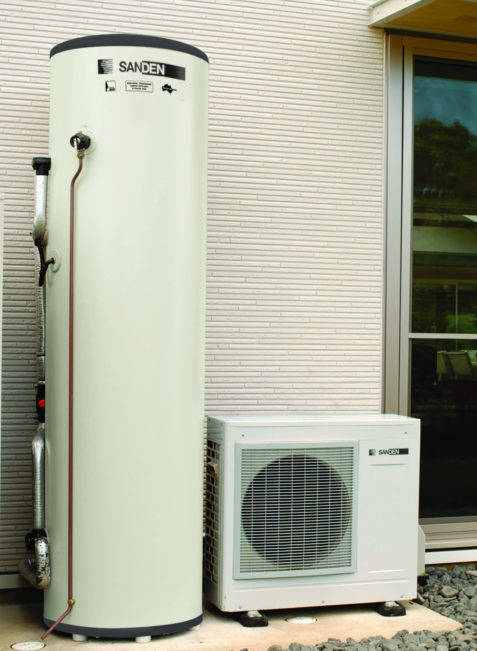 Sanden Eco Plus 300 Litre (Tall Slim)