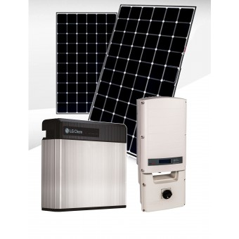 SolarEdge Optimised LG Solar & Battery Backup Package