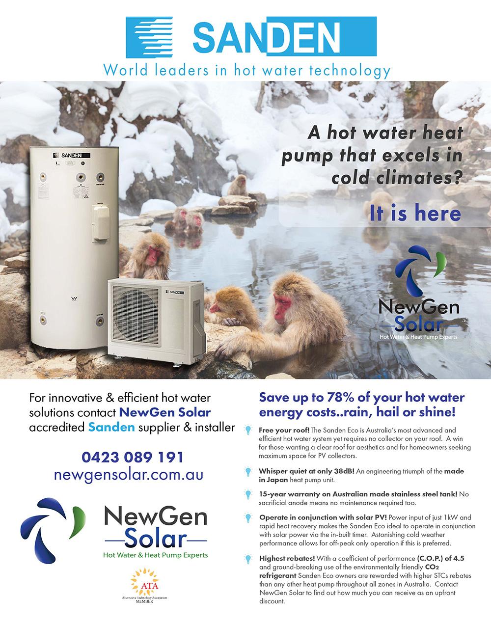 NewGen-Solar-Snow-Monkey-Sanden-Ad